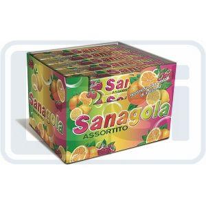 Sanagola Caramelle Gommose Doppia Menta Stick X20
